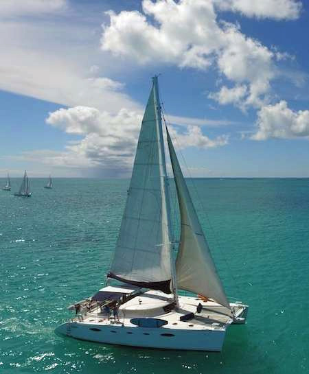Vivo Crewed Catamaran Charter