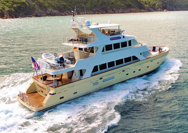 Watershed II Crewed Power Yacht Charter