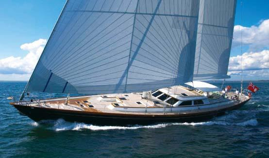 Whisper Crewed Sailing Yacht Charter