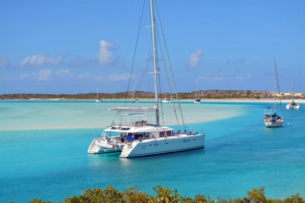 Whispers II Crewed Catamaran Charter