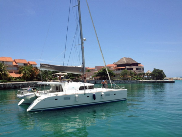 Whispers Crewed Catamaran Charter