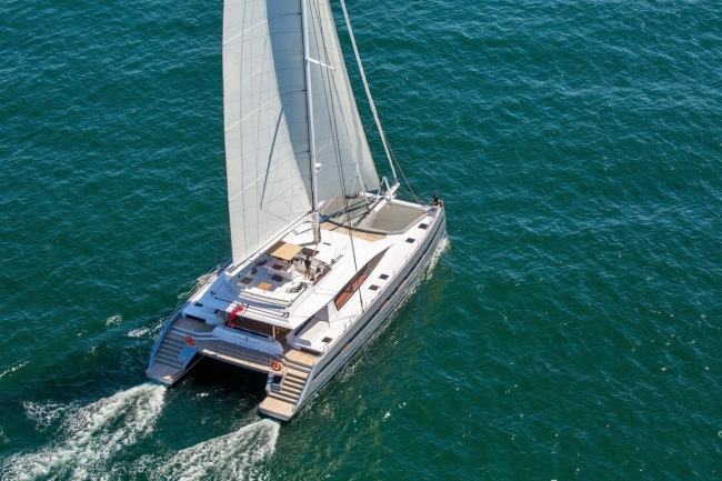 WindQuest Crewed Catamaran Charter