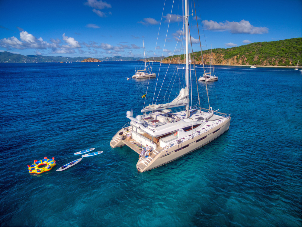 virgin island catamarans