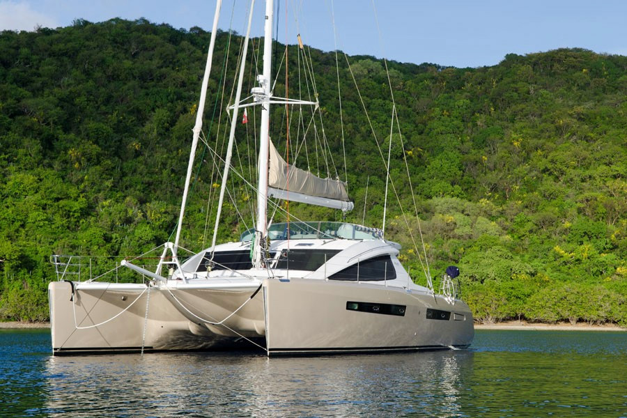 Xenia Crewed Catamaran Charter