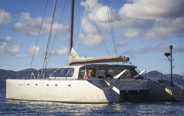 Zenyatta Crewed Catamaran Charter