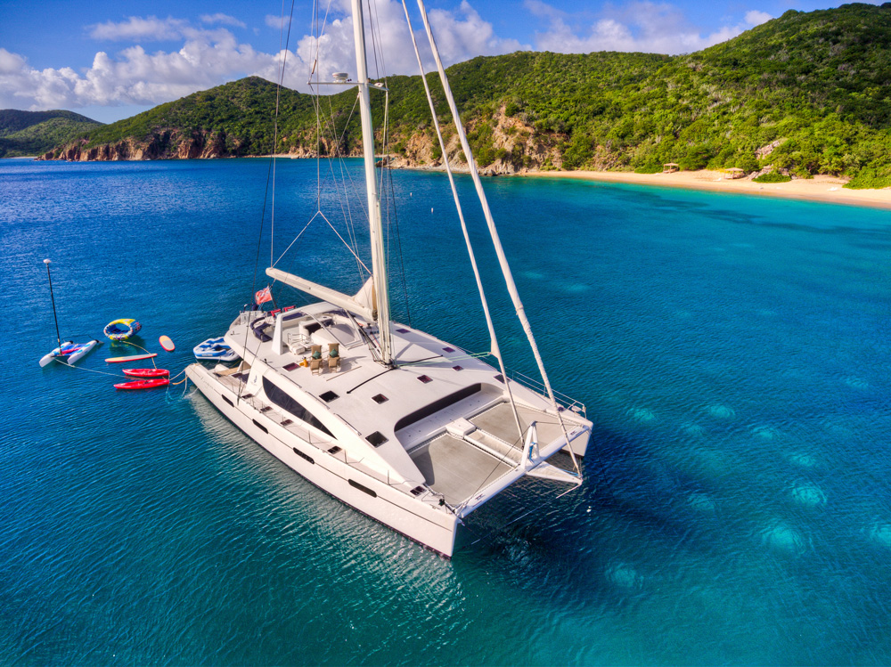 British charter crewed island virgin yacht