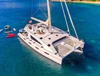 Zingara crewed catamaran